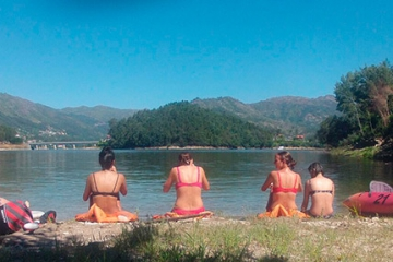STOP THE ROUTINE EVEN WHEN YOU ARE TRAVELING, CHOOSE A KAYAK RIDE IN GERÊS NATIONAL PARK