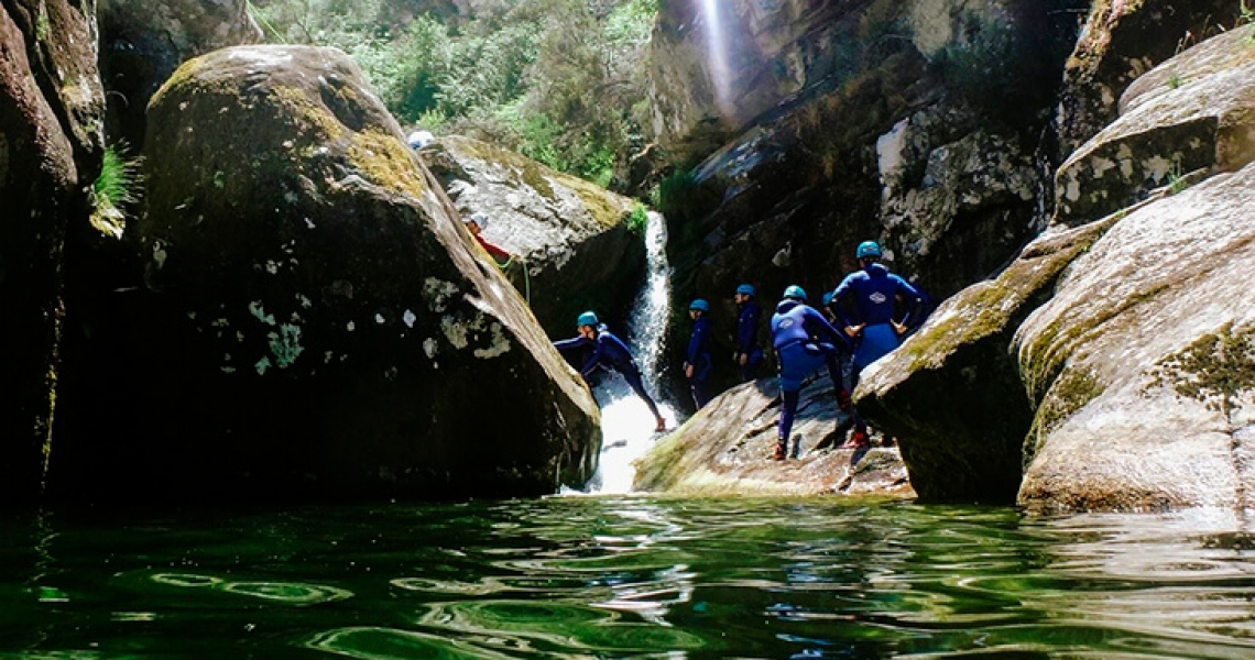 Jump into an Adventure! Canyoning In Gerês National Park